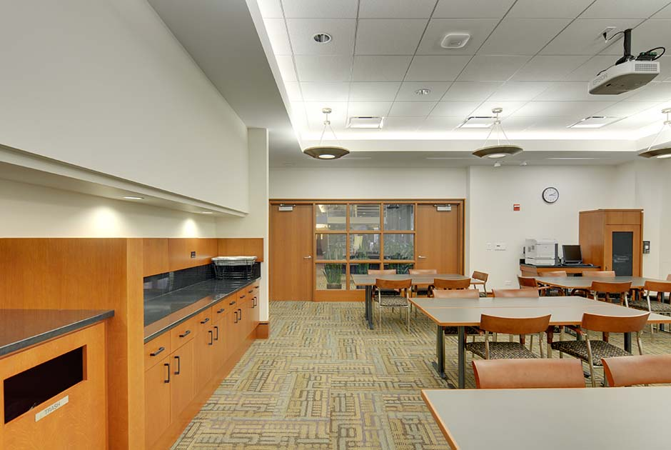 Executive Education Suite Chicago IL Commercial Residential Architecture Firm In