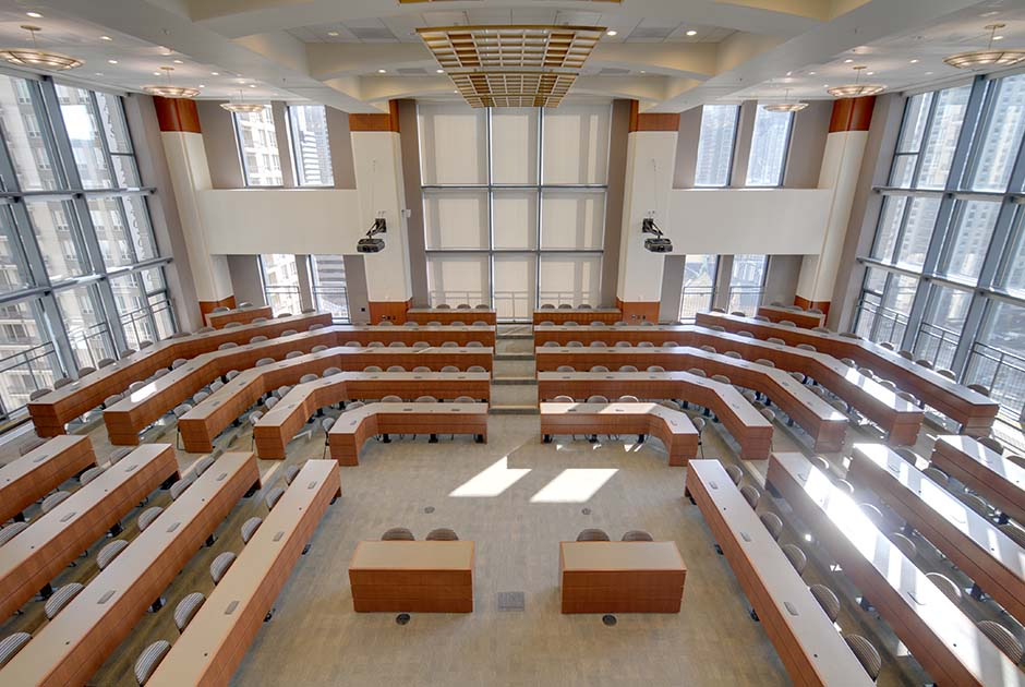 Loyola School Of Law Courtroom Chicago IL Commercial
