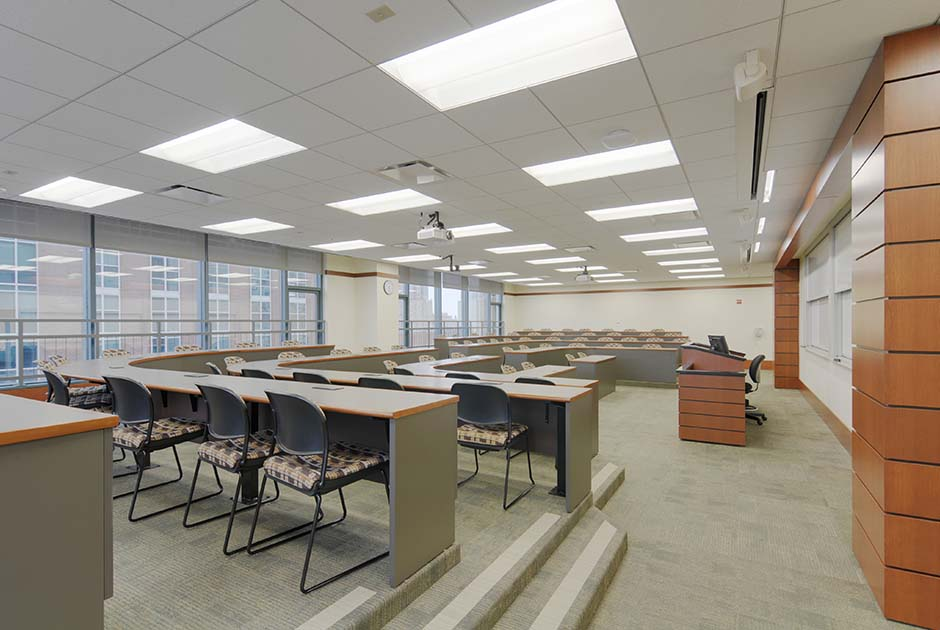 Loyola School Of Law Chicago IL Commercial Residential Architecture Firm In